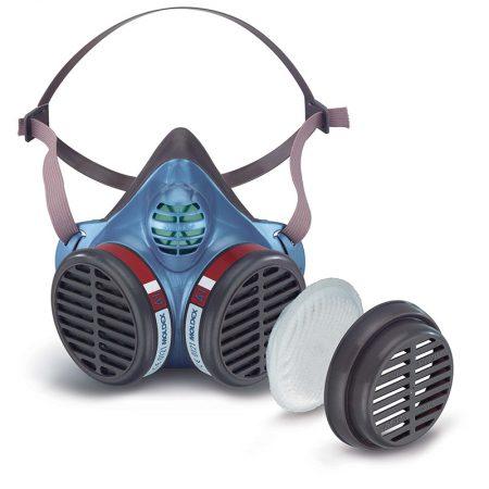 1/2 Masque Silicone Bi-filtre Serie 8000