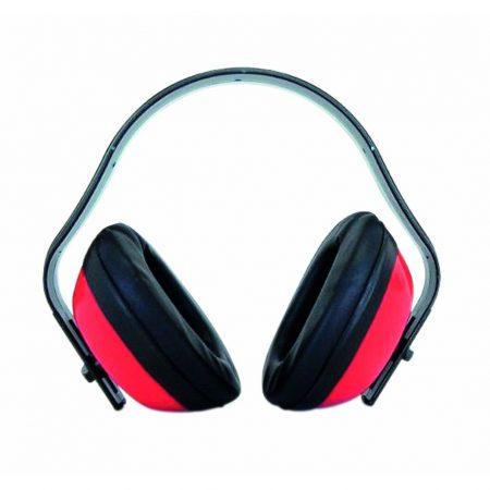 Casque Anti Bruit De Chantier Rouge