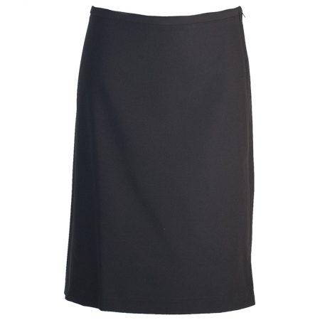 Jupe Habillée De Représentation Polyester/viscose/spandex Noire