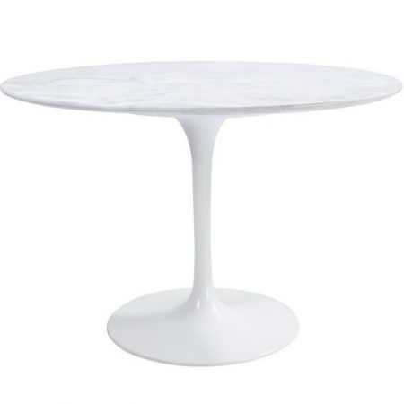 Marbre Rond Table à Manger