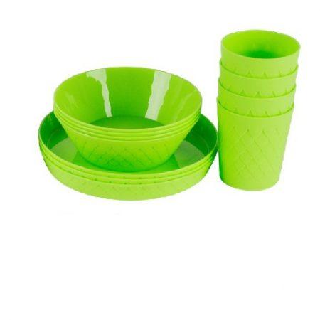Cup, Bowl & Plate Set 12pcs