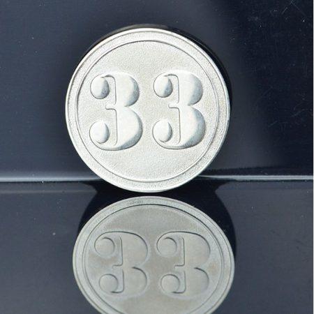 Pièce D'argent En Aluminium