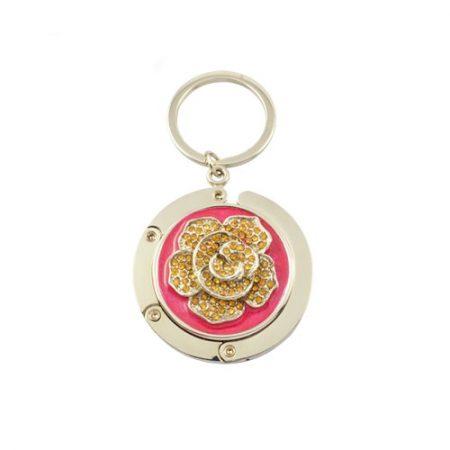 Porte-sac De Fleur De Mode Porte-clés