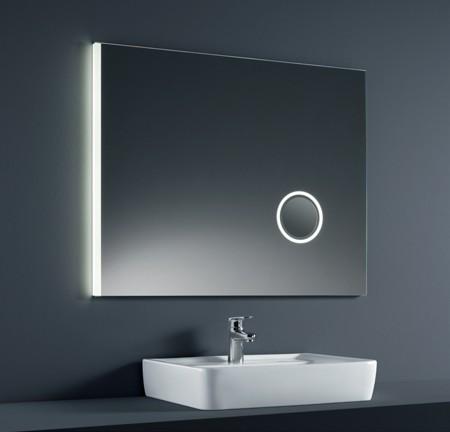 Miroirs De Salle De Bains à DEL Horloge Numérique