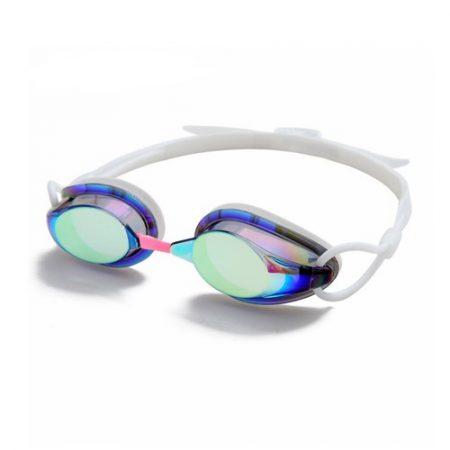 Lunettes De Natation à Revêtement Miroir Avec Lentille Anti-buée Et Anti-UV