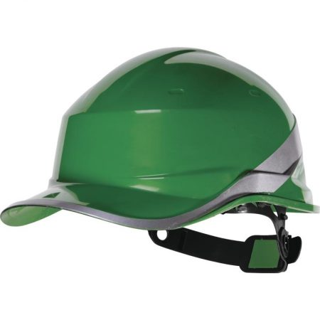 "ABS SAFETY HELMET ""BASEBALL CAP"" SHAPE + CHIN ATTACHMENT – ROTOR® ADJUSTMENT"